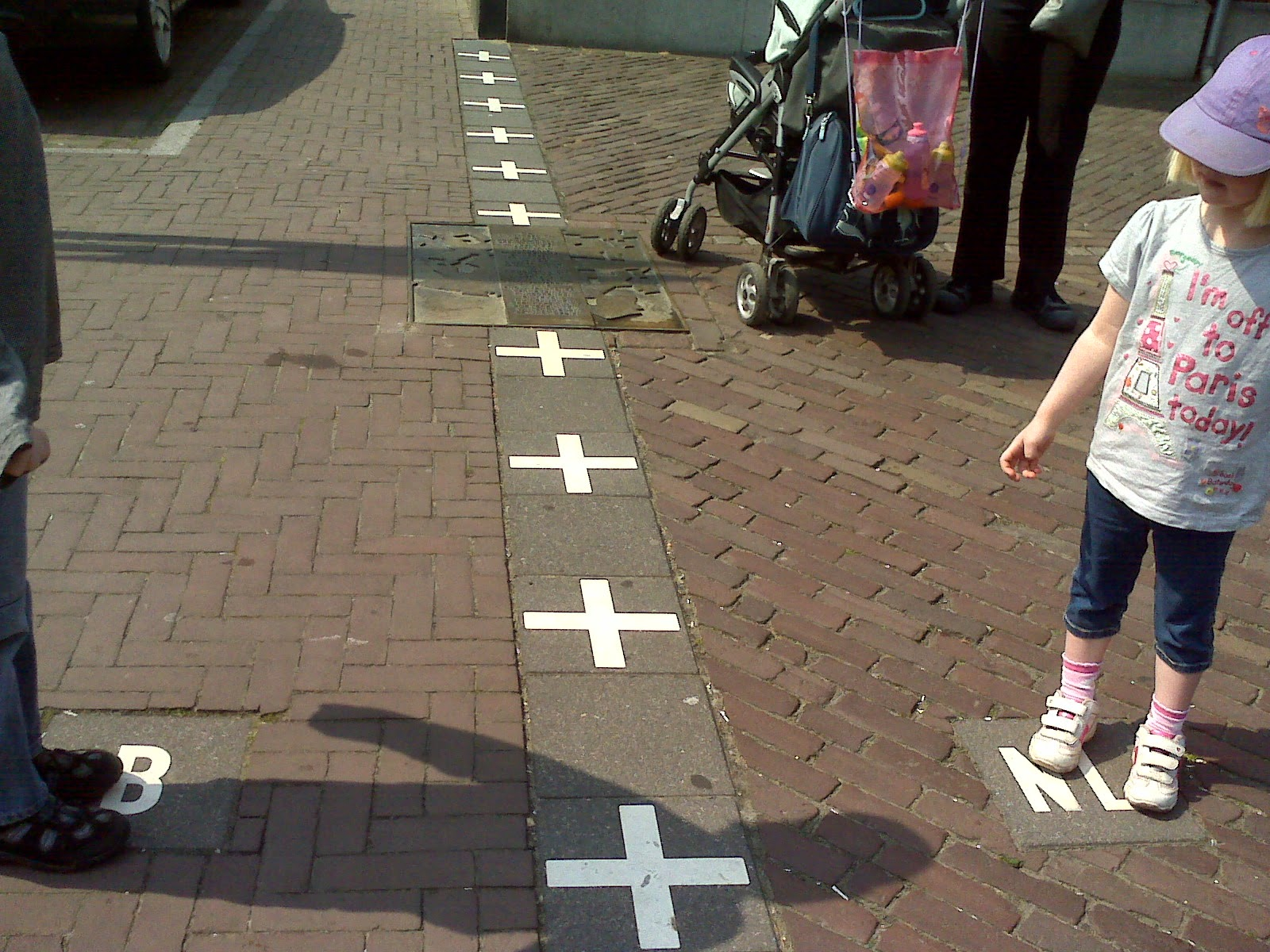 10 Amazing Border between Countries | The border between Netherlands and Belgium, in the city of Baarle