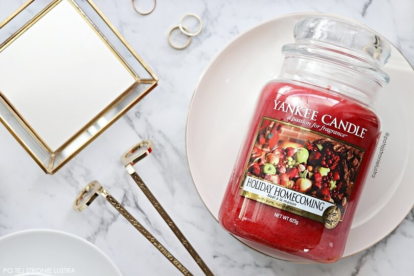 świeca yankee candle holiday homecoming