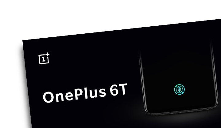 OnePlus 6T In Display Fingerprint Scanner
