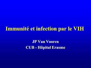 Immunité et infection par le VIH .pdf