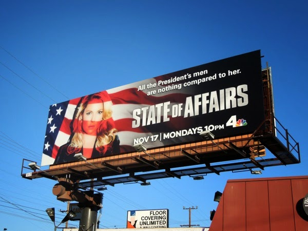 State of Affairs series premiere NBC billboard