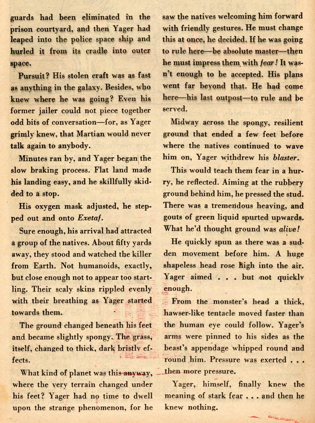Strange Adventures (1950) issue 2 - Page 36