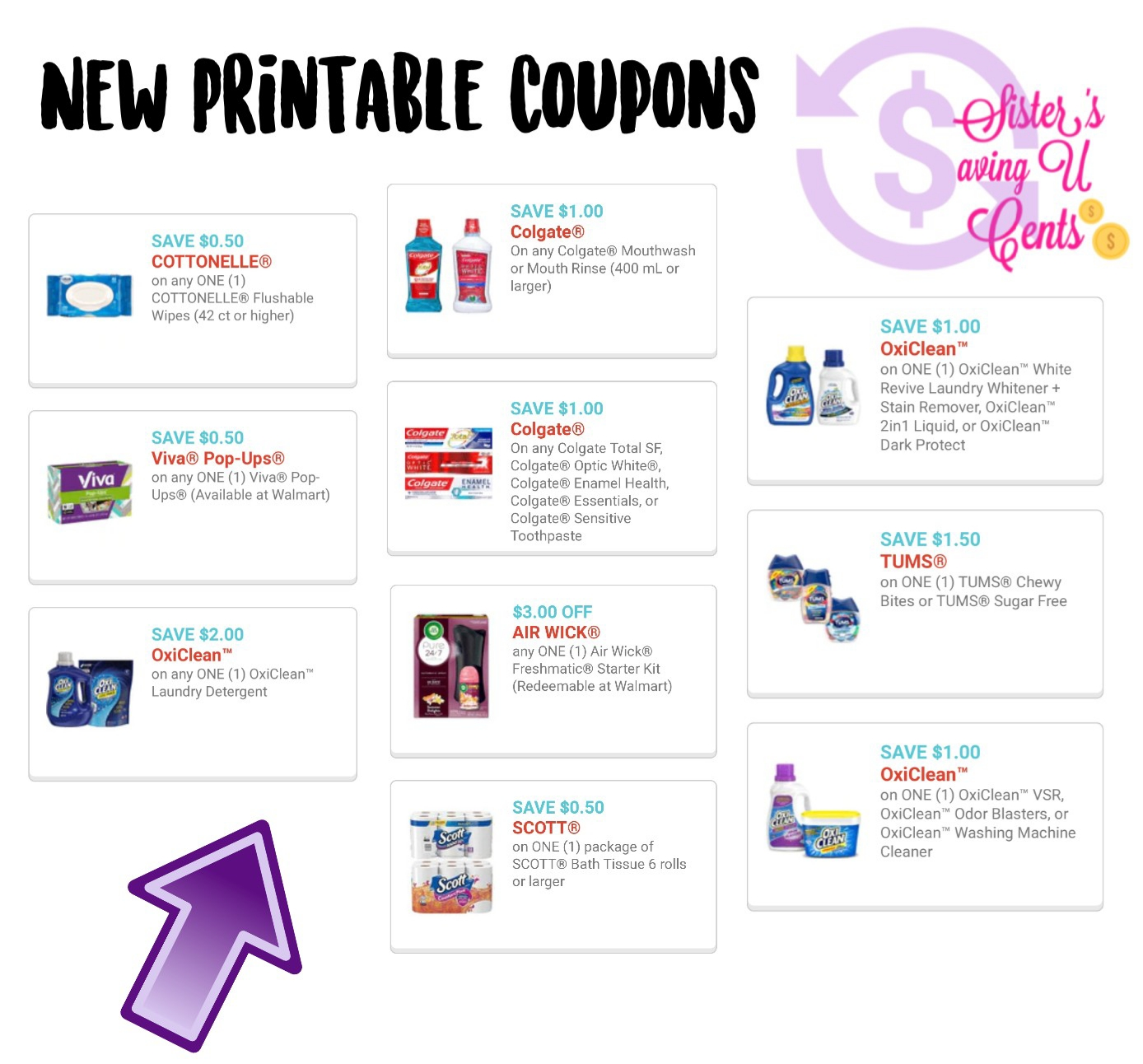photograph relating to Cottonelle Coupons Printable named Fresh Printable Coupon codes !!