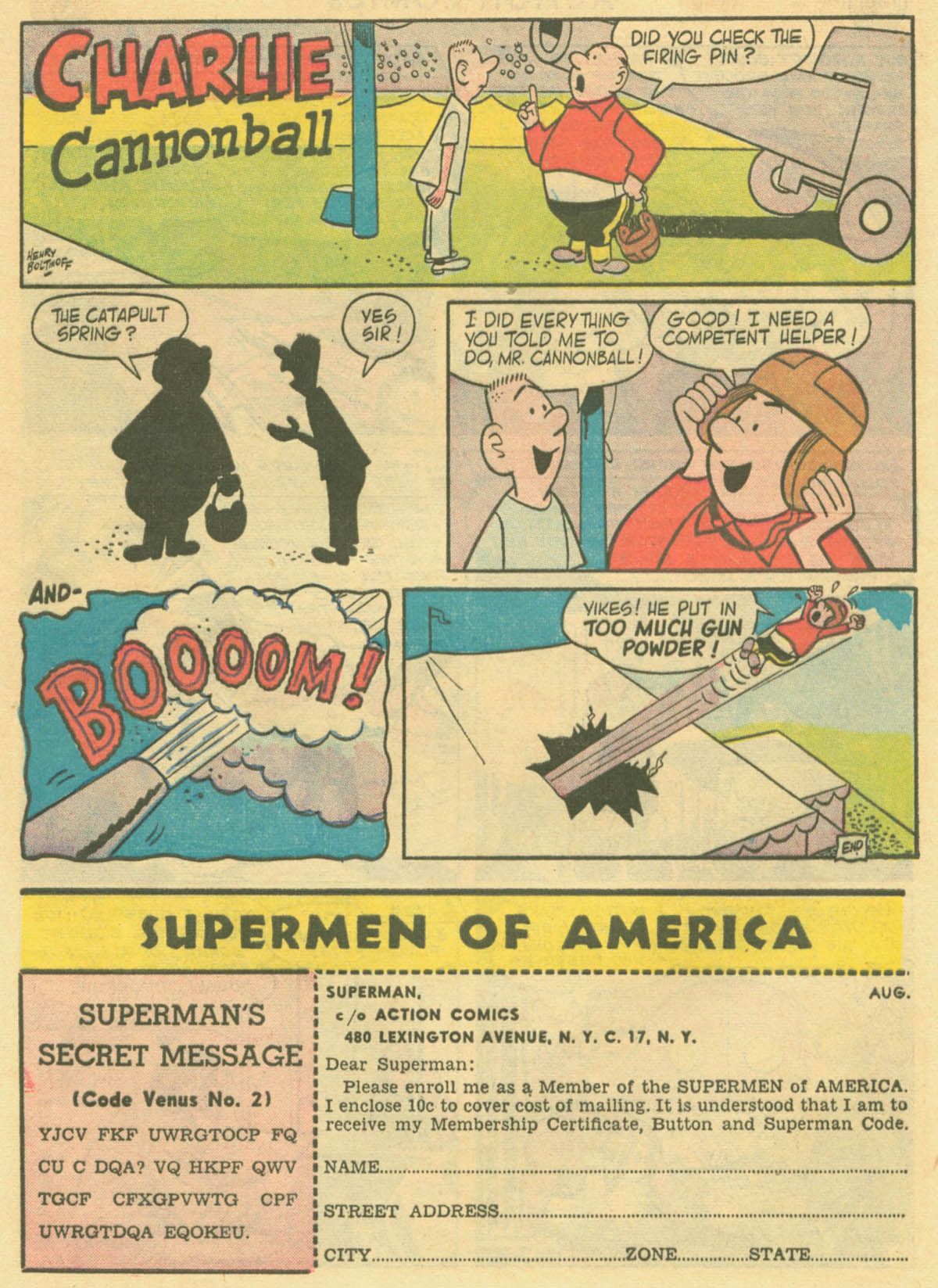 Read online Action Comics (1938) comic -  Issue #231 - 32