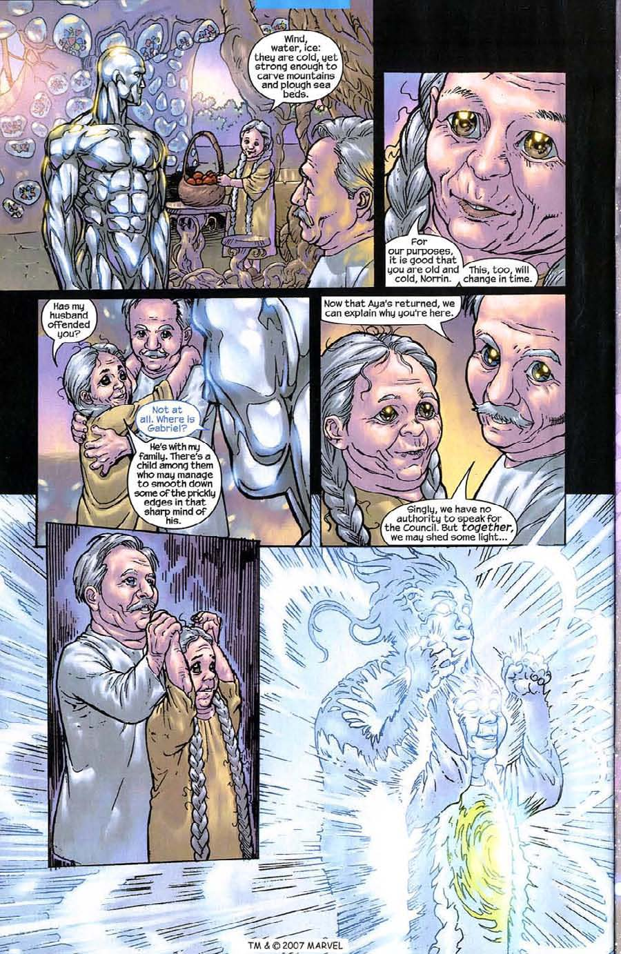 Read online Silver Surfer (2003) comic -  Issue #8 - 24