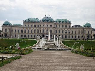 Vienna Wien Austria Belvedere Palace