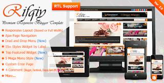 Rifqiy Theme cho blogspot bản chuẩn