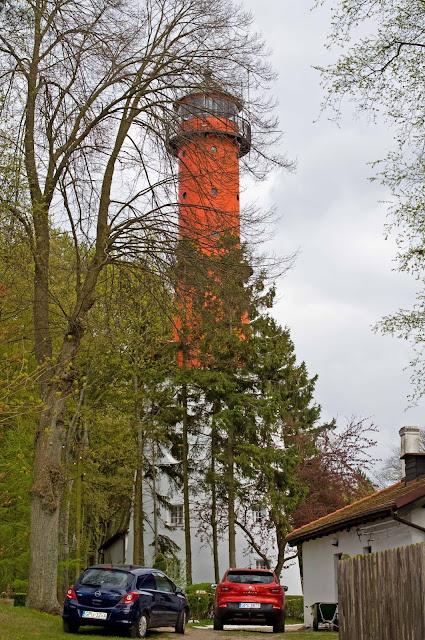 latarnia Rozewie, zdjęcie czynnej latarni