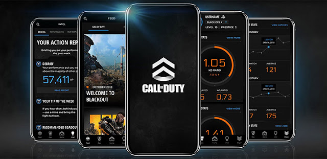 App Call of Duty Black Ops 4 e WWII (1)
