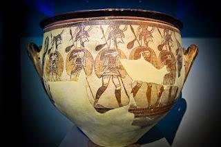 Βρέθηκε τάφος πολεμιστή των μυκηναϊκών χρόνων στο Μαραθώνα