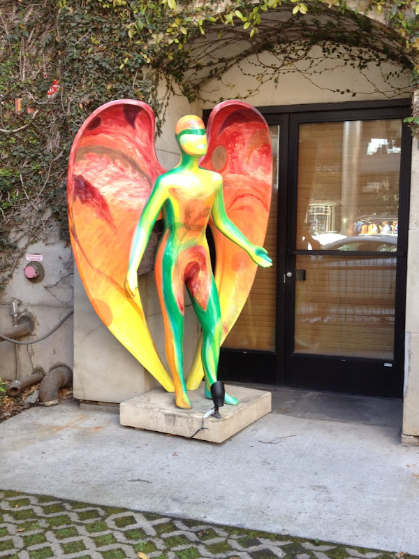 Exotic Angel statue