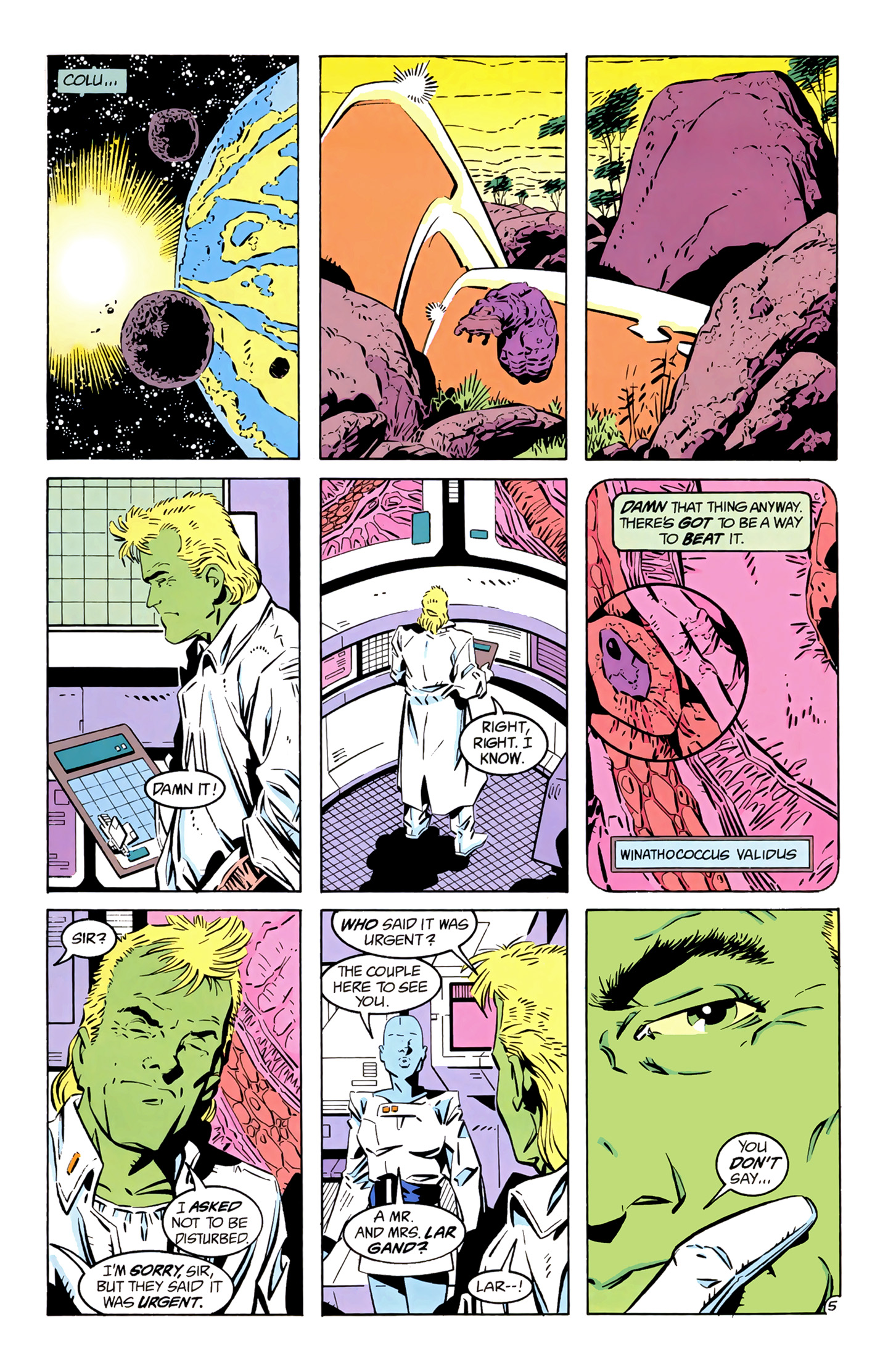 Legion of Super-Heroes (1989) 4 Page 5