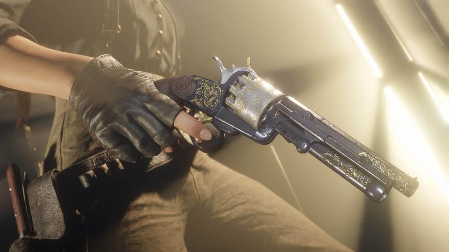 red dead online update rockstar games ps4 xb1 lemat revolver