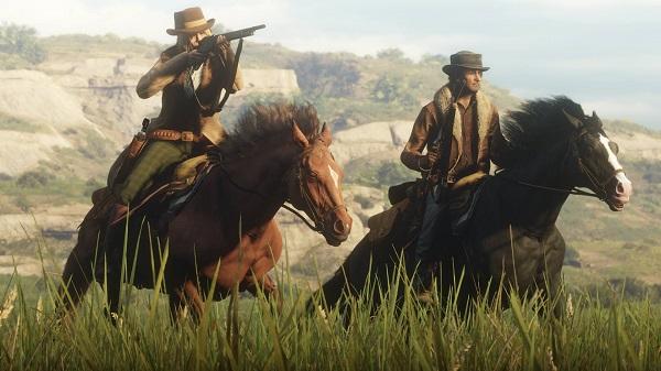 مشكل غريب يظهر داخل لعبة Red Dead Redemption 2 واختفاء جميع النماذج من عالم اللعبة ، شاهدوا من هنا..