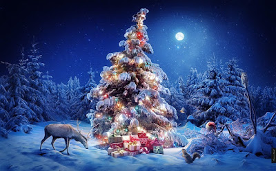 Xmas tree high quality picture