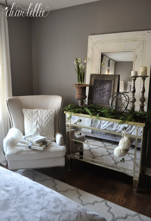 Dear Lillie: Our Gray Guest Bedroom With Some Simple