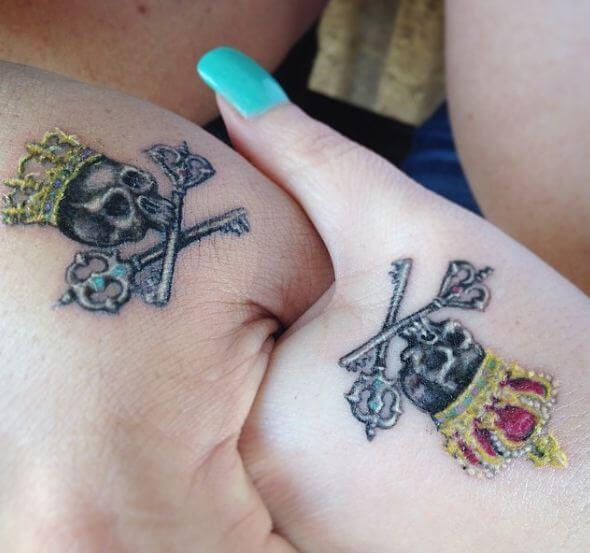 165 Top King And Queen Tattoos For Couples Page 2 Of 5
