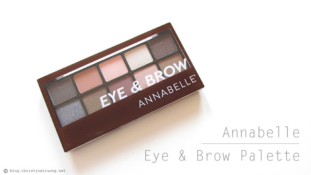 Check out Annabelle Cosmetics Fall 2017 Collection Haul Eye & Brow Palette