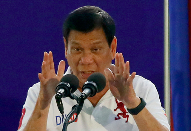 Duterte : I am ready to be imprisoned