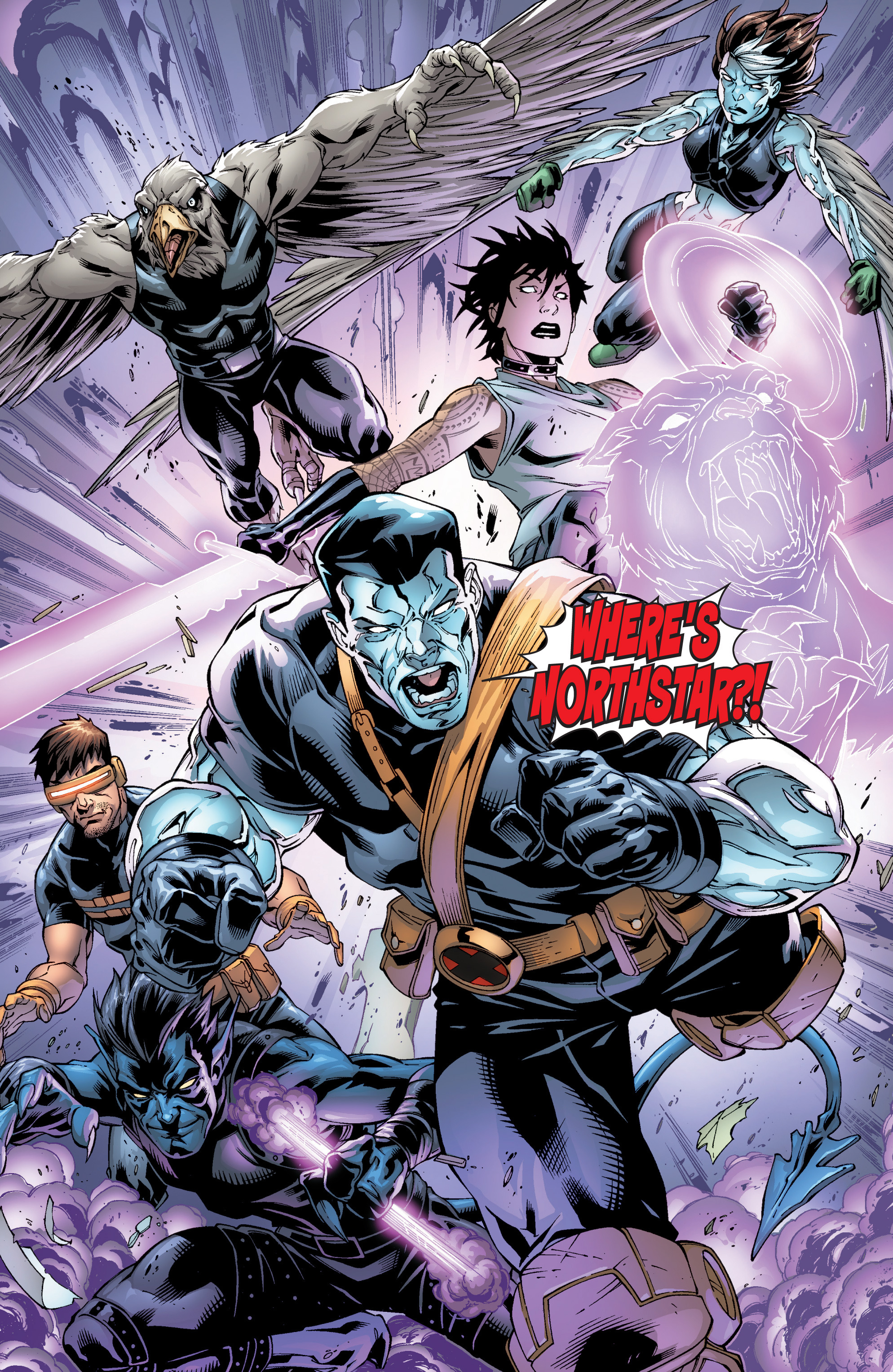 Read online Ultimate X-Men comic -  Issue #95 - 14