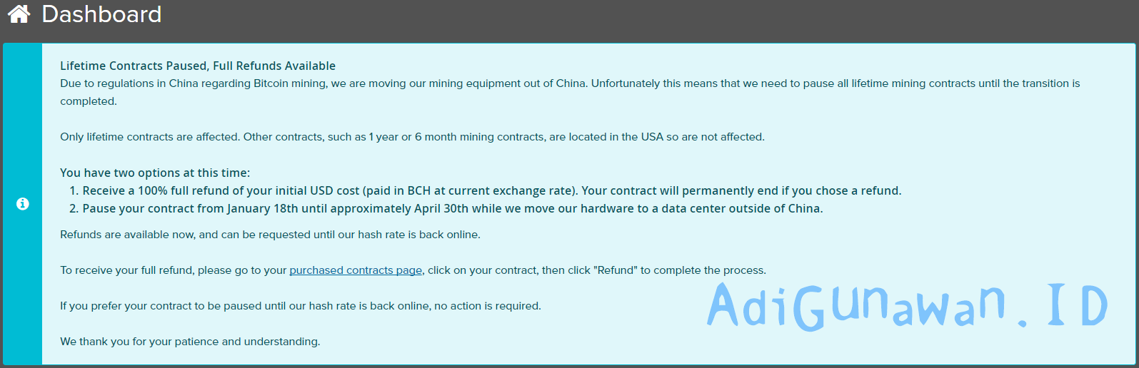 Cloud Mining Million Legit Chinese Bitcoin Mining Contracts