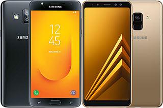 Samsung Galaxy J7 Duo vs A8 (2018)