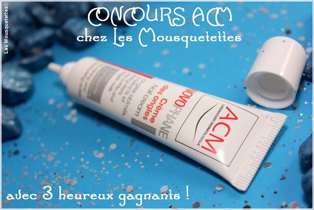 Concours Laboratoire Dermatologique ACM chez Les Mousquetettes
