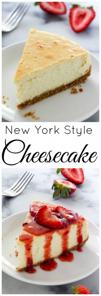 Rich and creamy, this classic New York Style Cheesecake is always a crowd-pleaser! Made with a graham cracker crust and an ultra creamy filling, this is sure to become one of your favorite cheesecake recipes.
