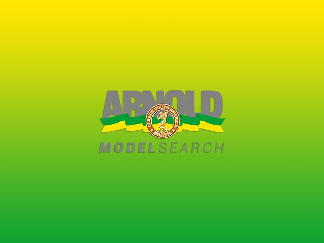 Arnold Model Search 2017. Foto: Divulgação