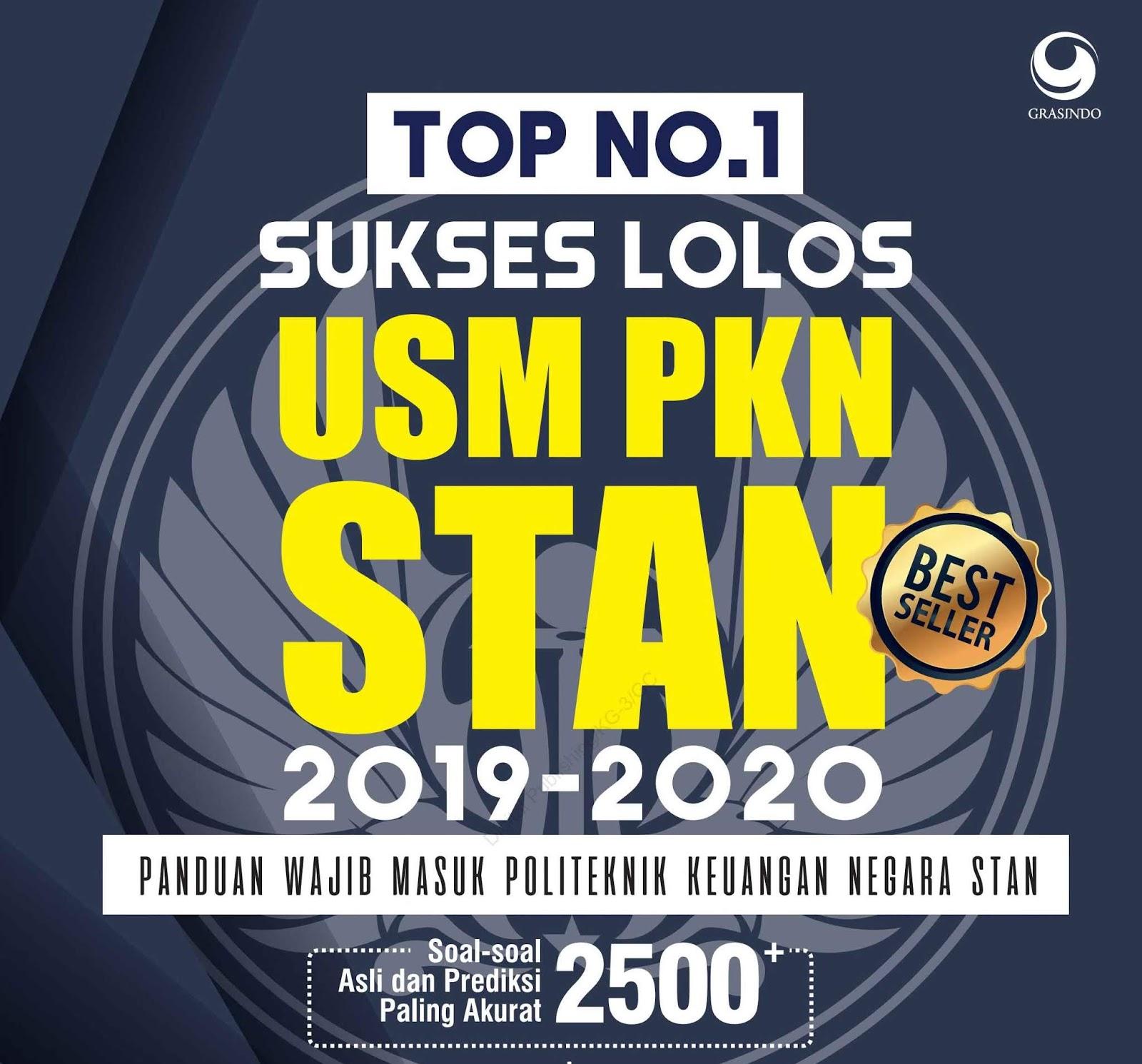 Top No.1 Sukses Lolos USM PKN STAN (Best Seller) 2019-2020