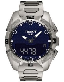 TISSOT T-Touch Expert Solar Blue Dial Titanium T091.420.44.041.00