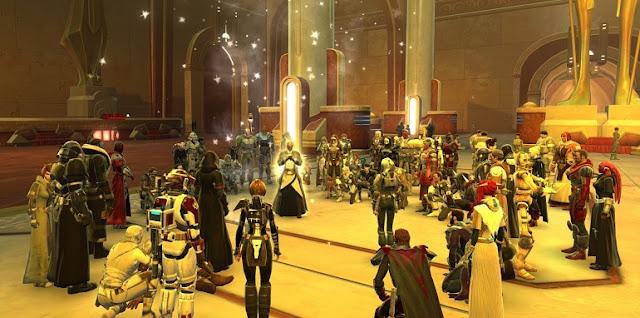 O falecimento da atriz Carrie Fisher foi sentindo de forma especial pelos fãs desse aclamado MMORPG