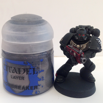 Painting Dark Angels - Step-by-Step