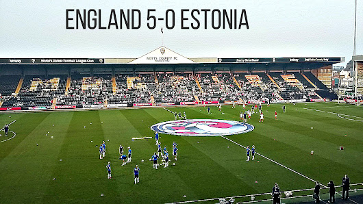 England Women 5-0 Estonia Women