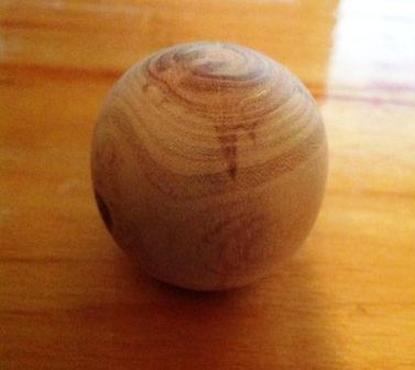 DIY Wood ball