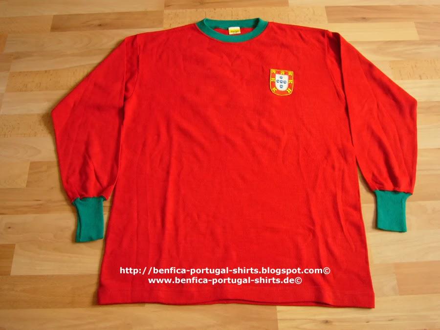 c93e37e69804c Benfica-Portugal-Shirts  Portugal 1966 - Fernando Cruz