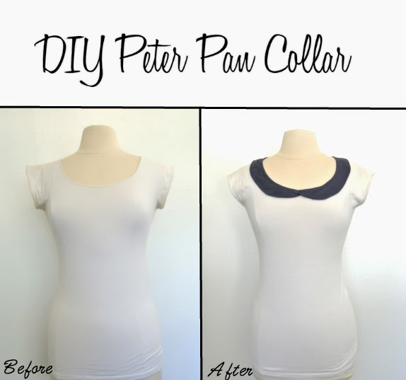 Tutorial on how to create a pattern for a peter pan collar
