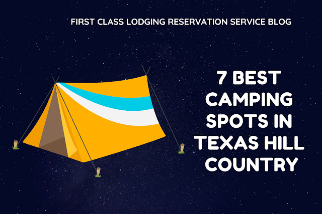 7 best camping spots in Texas Hill Country blog cover image