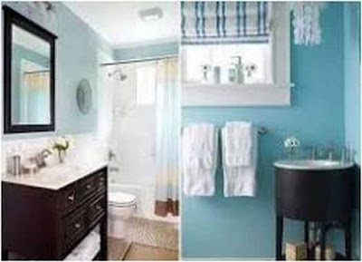 tips bathroom paint color ideas for small bathrooms