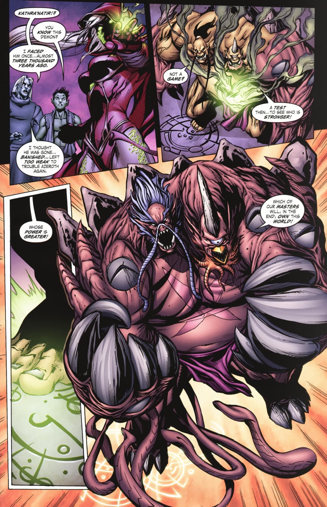 Read online World of Warcraft comic -  Issue #20 - 18