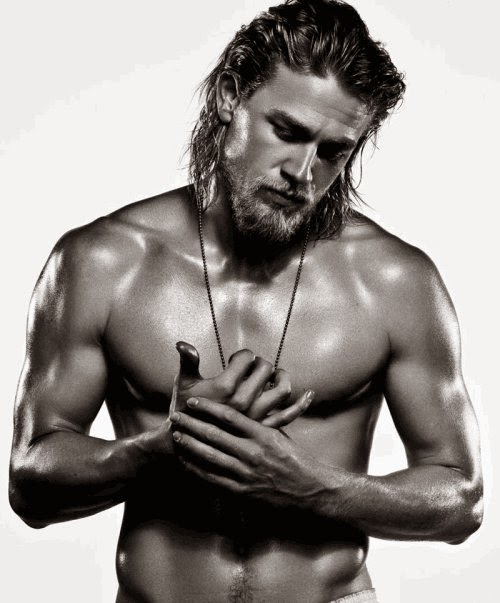 Charlie Hunham, Jax Teller Shirtless, Charlie Hunham shirtless, Sons of Anarchy, SAMCRO