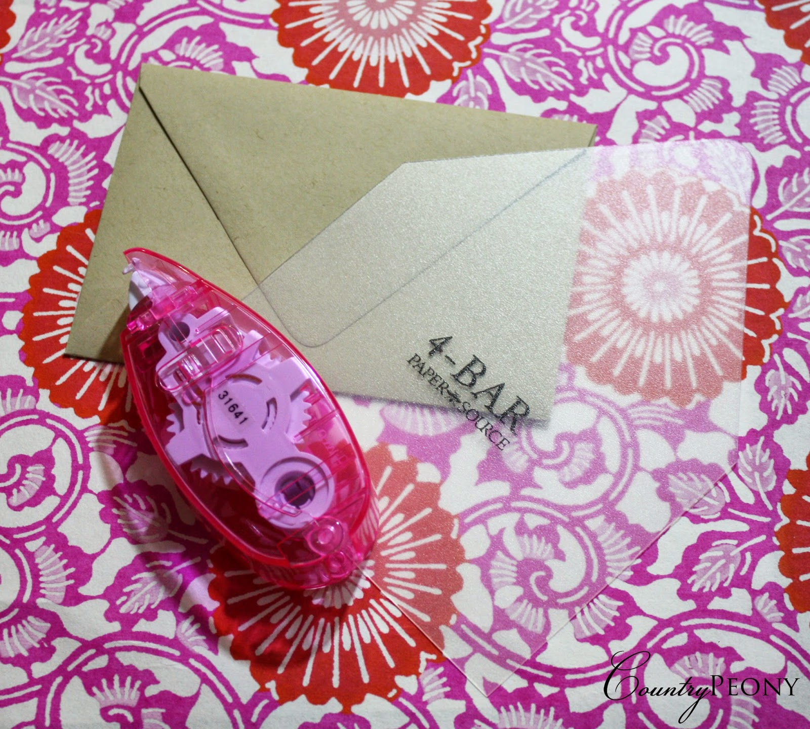 DIY Envelope Liner