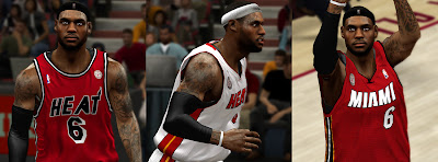 NBA 2K13 LeBron James Realistic Cyberface Patch