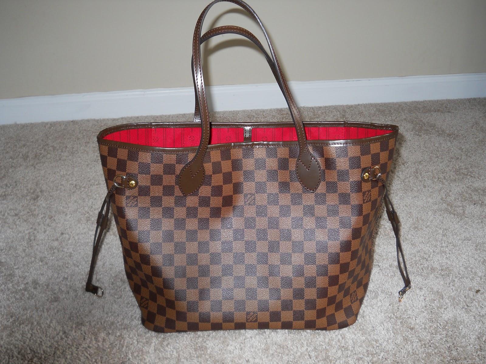 3cab5912f66a Louis Vuitton Neverfull Damier Azur Fake