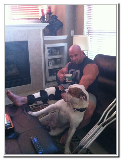 Branch Warren Bodybuilder Quadriceps Tendon Tear