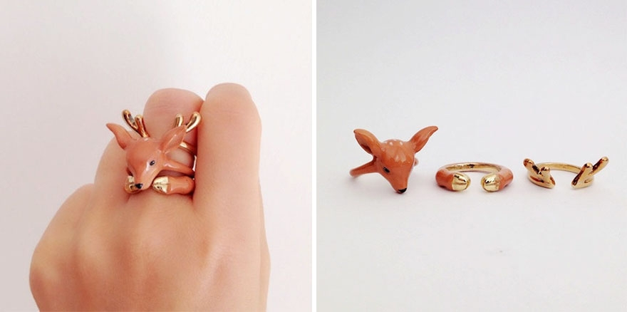02-Deer-Mary-Lou-Three-Piece-Animal-Jewellery-Rings-www-designstack-co