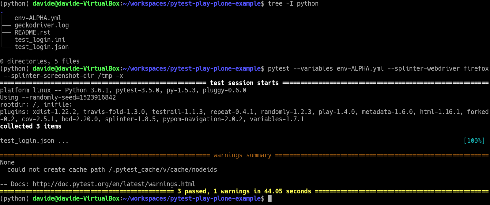 Planet python et voil lets see it in action out scenario without having to write any line of python code fandeluxe