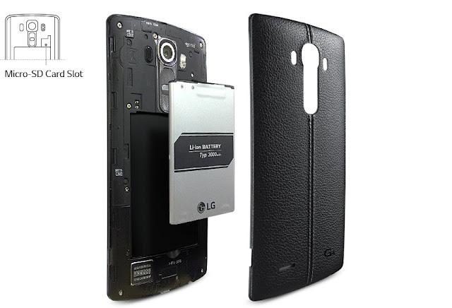 LG G4 sim micro nano