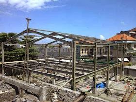 Kontraktor Baja Ringan Jakarta Konstruksi Berat Wf Bogor Depok Tanggerang Bekasi