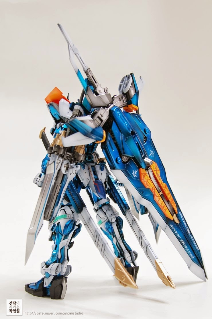 Custom Build Mg 1 100 Gundam Astray Blue Frame Second